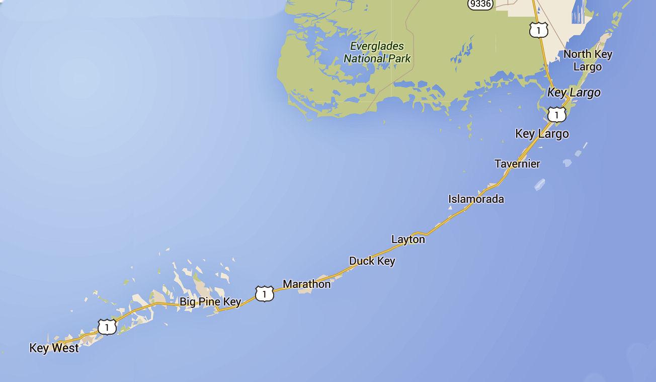 What Islands Make Up The Florida Keys