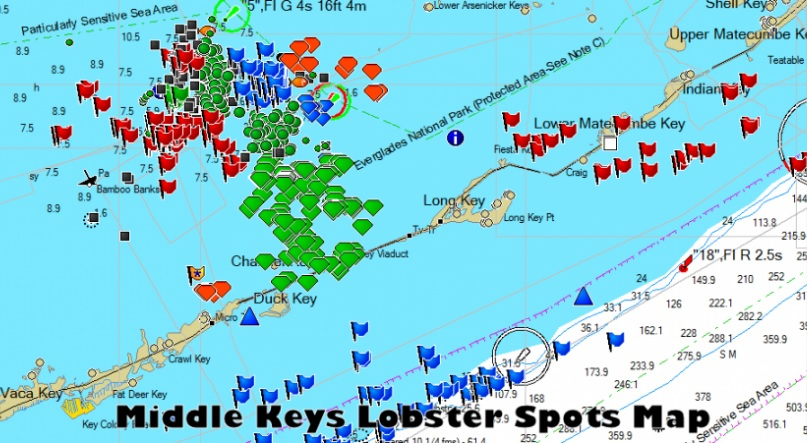 Florida Keys Spiny Lobster Spiny Crawfish Fishing Guide